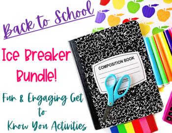 Ice Breaker Bundle-NO PREP!!