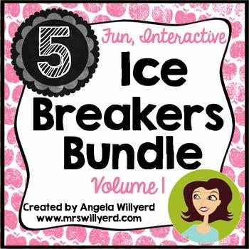 Back to School Ice Breaker Bundle Volume 1