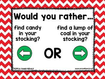 Ice Breaker Bundle: Would You Rather Back-to-School, Christmas, Summer Break