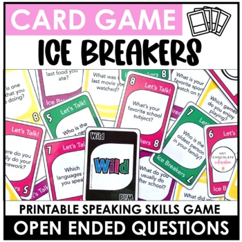 Ice Breaker Card Game - Getting to Know You Questions