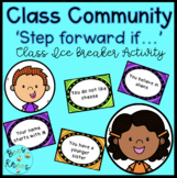 Ice Breaker Activity - Step Forward If... - Building Class