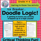 Ice Breaker, Middle School,Doodle Logic, Brain Teaser, Logic Puzzle, Get to Know