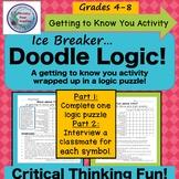 Ice Breaker, Middle School,Doodle Logic, Brain Teaser, Log