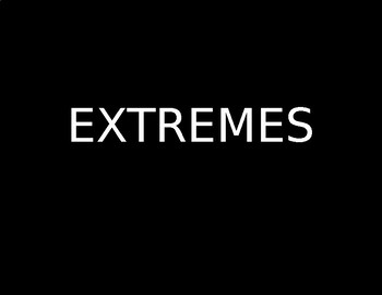 Ice Breaker: Extremes