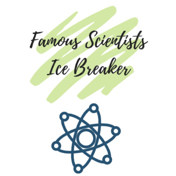 "Ice Breaker: Famous Scientists ""Headbands"" Game"