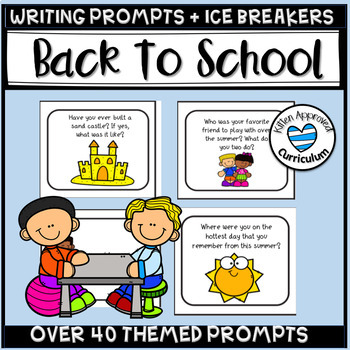 Ice Breaker Games and Back to School Writing Prompts