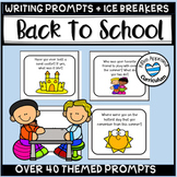 Ice Breakers for Summer School or Back To School