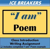 "Ice Breaker - ""I Am"" Poem"