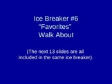 Ice Breaker Ideas for Middle School or High School students