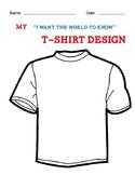 Social Skills Ice Breaker: T-shirt Design