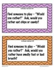 Ice Breaker Task Cards