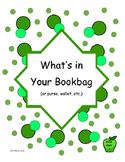 Ice Breaker: What's In Your Bookbag?