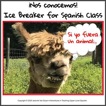 Ice Breaker for Spanish Class/First Day Activity