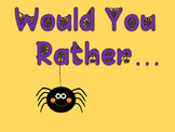 Ice Breaker for Teachers: Would you Rather