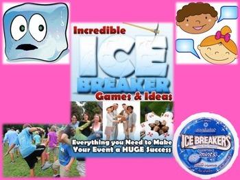 Ice Breakers & Bonding Moments