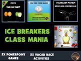 Ice Breakers - Class Mania
