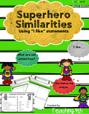 Ice Breakers- Find Someone Who & Superhero Similarities