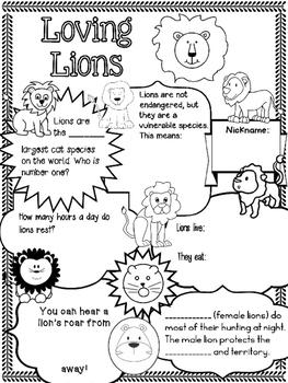 Ice Breakers! - Loving Lions
