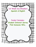 Ice Breakers Spanish & English