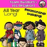 Ice Breakers! Team Builders! Grades 2-5!