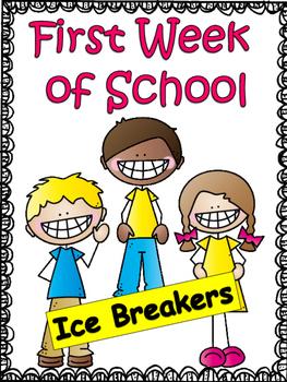 Ice Breakers: The First Week of School