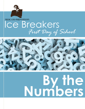 Ice Breakers for the First Day of School: By the Numbers