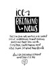 Ice Breaking News Journal - The Perfect Friend-Making Journal Companion