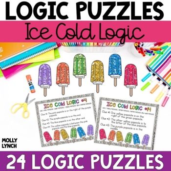 Ice Cold Logic Problem Solving {Logic Puzzles}