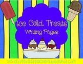 Ice Cold Treats Writing Packet