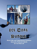 Ice Core Bundle: Movie Notes, Interactive Notebook Foldable, Data Activity