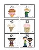 Ice Cream 10 more, 10 less, 1 more, and 1 less