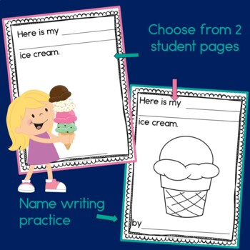 Ice Cream Class Book with Sight Words