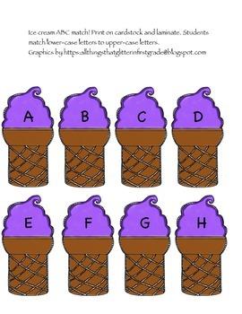 Ice Cream ABC Match!