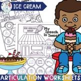 Ice Cream Activities for Speech Therapy