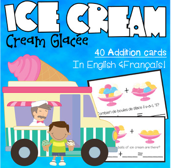 Ice Cream Addition/ Additions de Crèmes Glacées