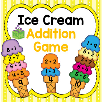 Ice Cream Addition Game