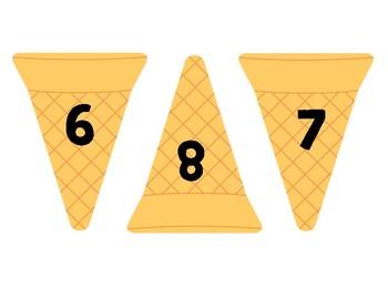 Ice Cream Addition Match From 1-10