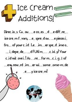 Ice Cream Additions!