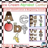Ice Cream Alphabet Center