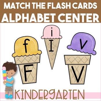 Ice Cream Alphabet Matching Puzzle {Sweet Treats edition}