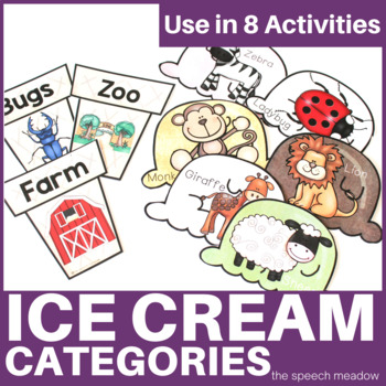 Ice Cream Animal Categories