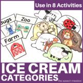 Ice Cream Animal Categories