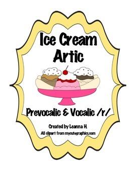 Ice Cream Artic - Bundle! Save $1.50!