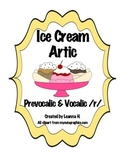 Ice Cream Articulation Prevocalic & Vocalic /r/
