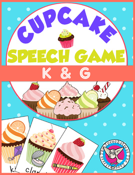 Ice Cream Articulation: /k/ and /g/ Card Game