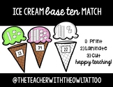 Ice Cream Base Ten Match