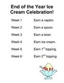 Ice Cream Behavior Plan