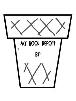 Ice Cream Book Report Freebie!