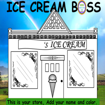 Ice Cream Boss-Make and Promote Concoctions