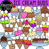 Ice Cream Buds Clipart {Ice Cream Clipart}